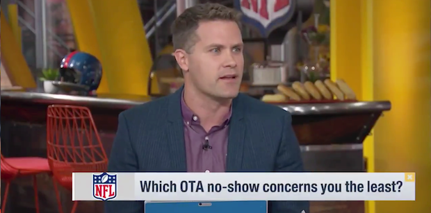 Kyle Brandt explains why Tom Brady missing OTAs is no big deal