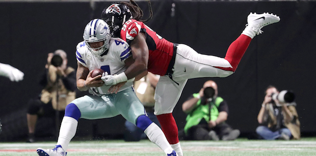 Biggest gains, losses for Falcons in 2018