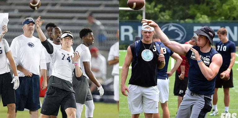 Penn State player development photos: Then & Now