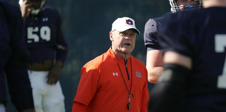 J.B. Grimes knows Auburn offensive line is 'not ready yet'