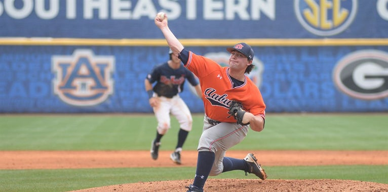Auburn Powers By Rebels To Advance In SEC Baseball Tournament