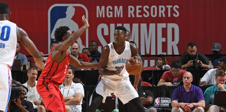 Thunder's summer league coach praises Hervey's basketball IQ