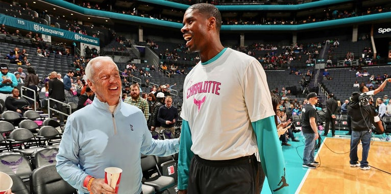 Charlotte Hornets to Hold Camp, Preseason Game in Smith Center