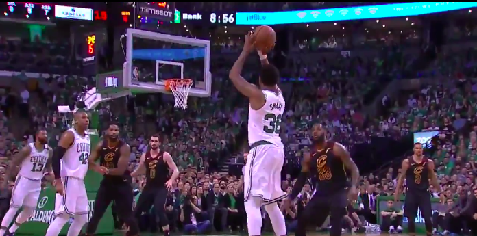 WATCH: Boston Celtics make six three-pointers in first quarter