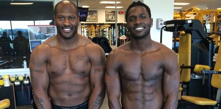 Steelers Antonio Brown pays homage to James Harrison