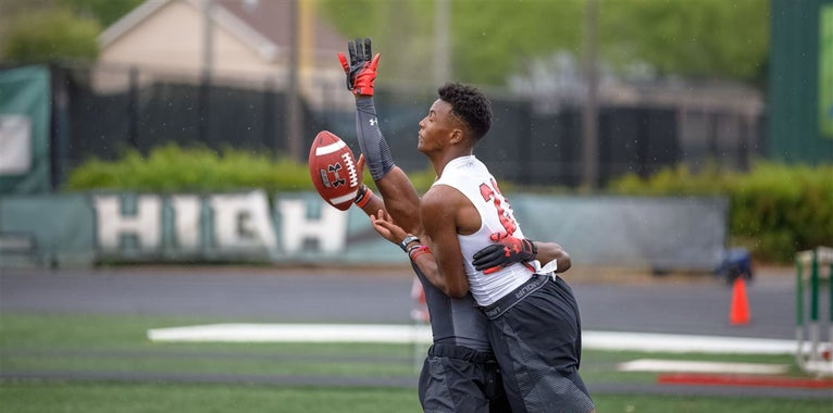 Under Armour Atlanta: WR/DB 1on1 video
