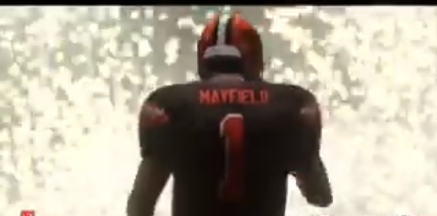 Baker Mayfield happy with speed rating on Madden