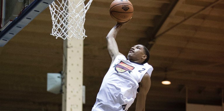 Wiggins Wins One-on-One Contest at Iverson Classic