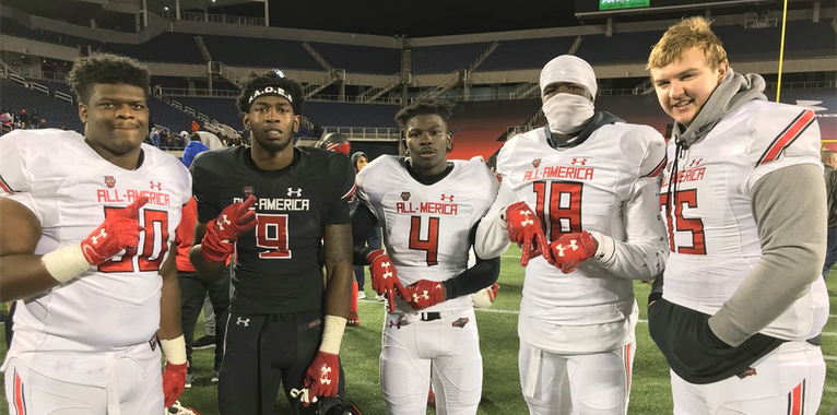 Alabama prospect stats from the Under Armour All-America Game