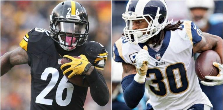 The top-ten NFL running backs in 2018