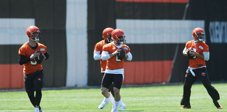 First look at Browns OTAs