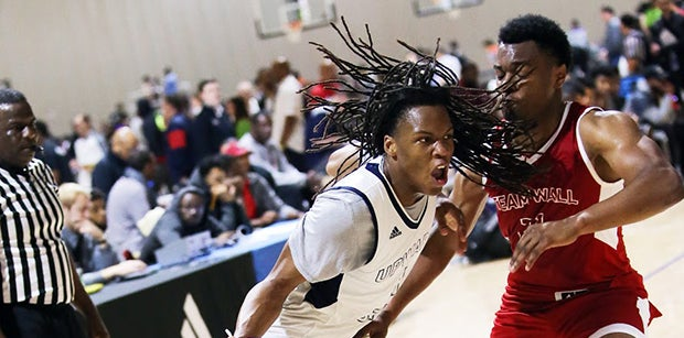 Four-star Christian Brown hears from Will Wade every day