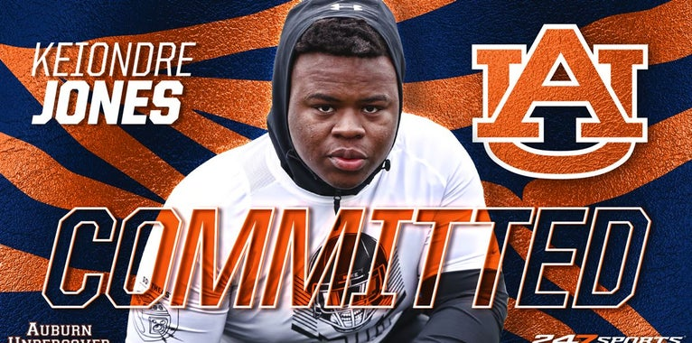 4-star OL Keiondre Jones commits to Auburn