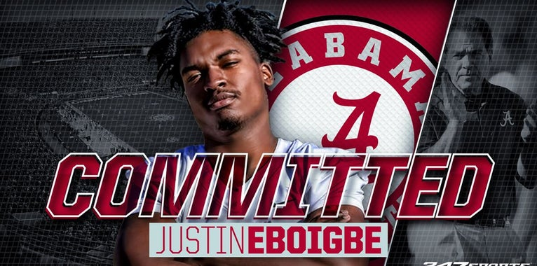 Georgia DL Justin Eboigbe commits to Alabama