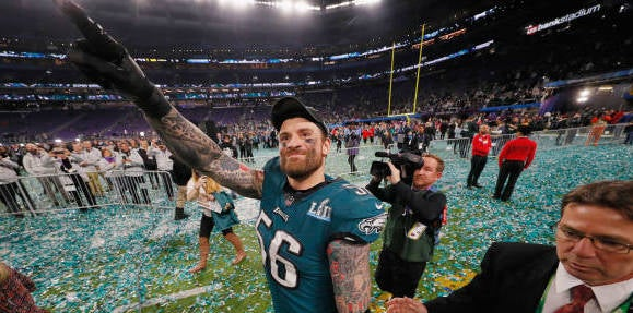 Chris Long wants a chance to repeat; why he came back