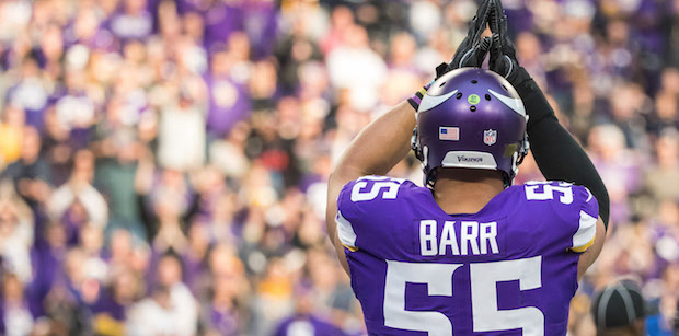 Barr expanding his game to the 'fun stuff'
