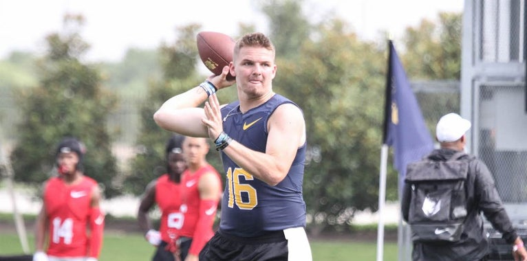 WATCH: QB Ryan Hilinski impresses at The Opening Finals