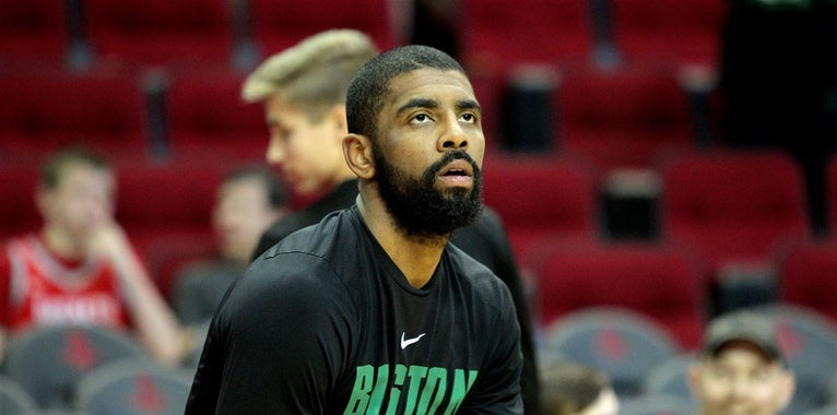 Kyrie Irving comments on his new movie 'Uncle Drew'