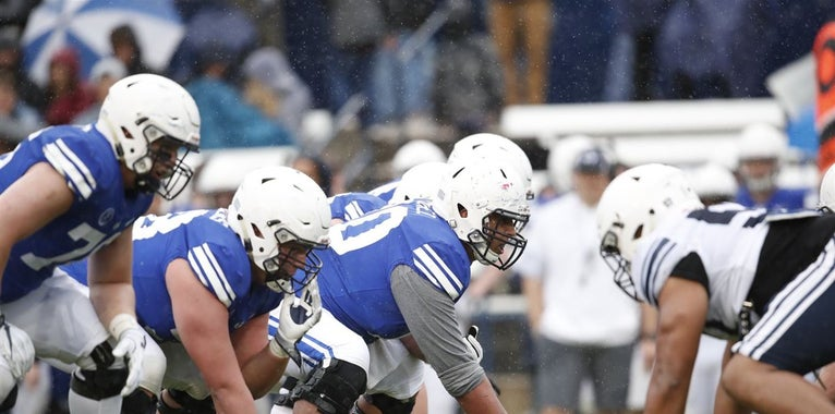 BYU wraps up spring ball with annual spring scrimmage