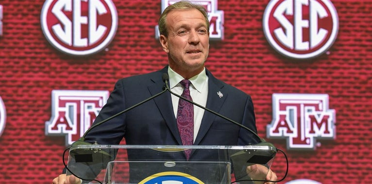 Fisher at SEC Media Day on A&M's recruiting success