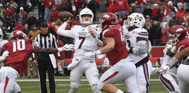 Mississippi State's Fitzgerald in mix for top QB in 2018