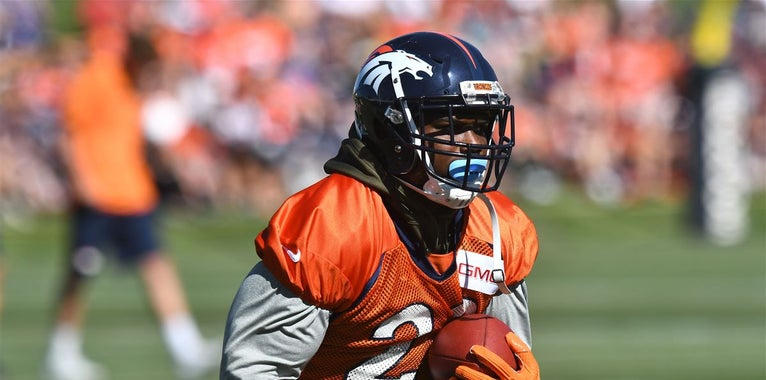 C.J. Anderson takes uncommon approach to practice