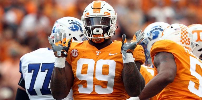 Tennessee's 2018 NFL draft board