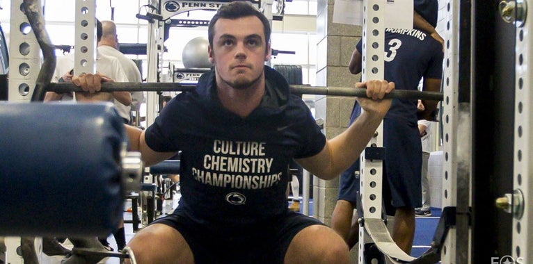 GALLERY: Penn State players attack winter workouts