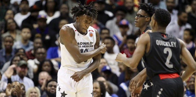 Early 2019 NBA Mock Draft Features UNC Signee in Top Five