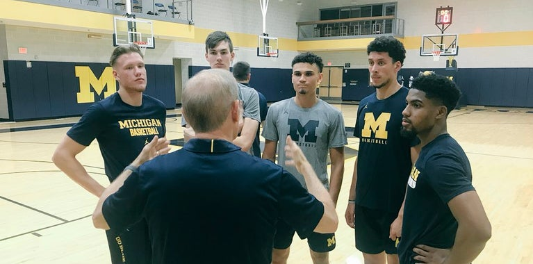 Beilein taking it slow with heralded 2018 class