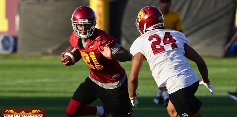 PHOTOS: USC spring practice day one