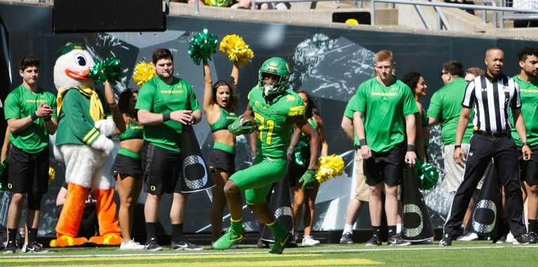 Where do Oregon players come from?