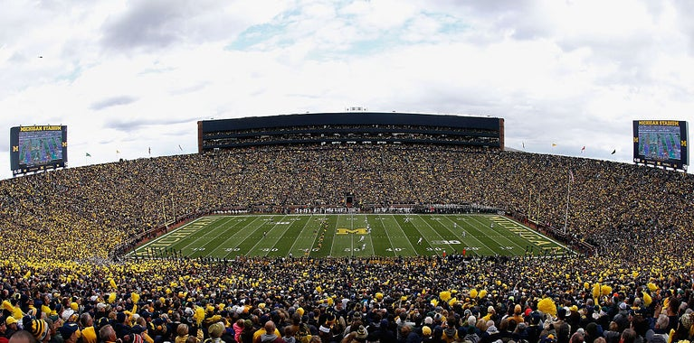 Exciting recruiting weekend in Ann Arbor