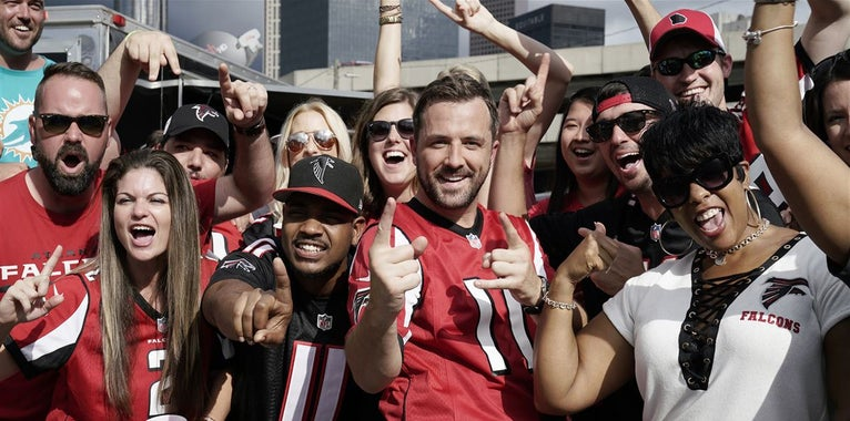Falcons announce open practice date at Mercedes Benz Stadium
