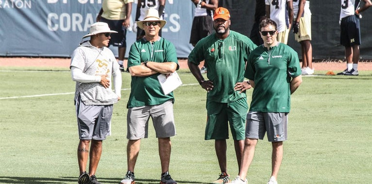 'Canes Preparing For Star-Studded Paradise Camp