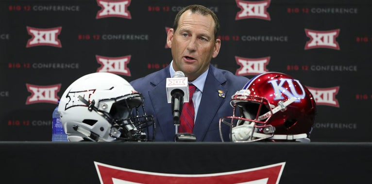 David Beaty talks through job pressures with new AD in Lawrence