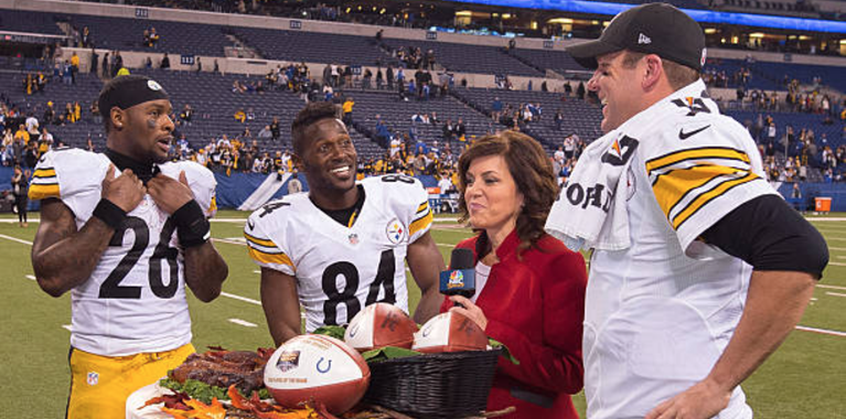 Le'Veon Bell gains support from Antonio Brown, Big Ben