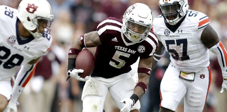 Trayveon Williams an army of one for A&M head coach Jimbo Fisher