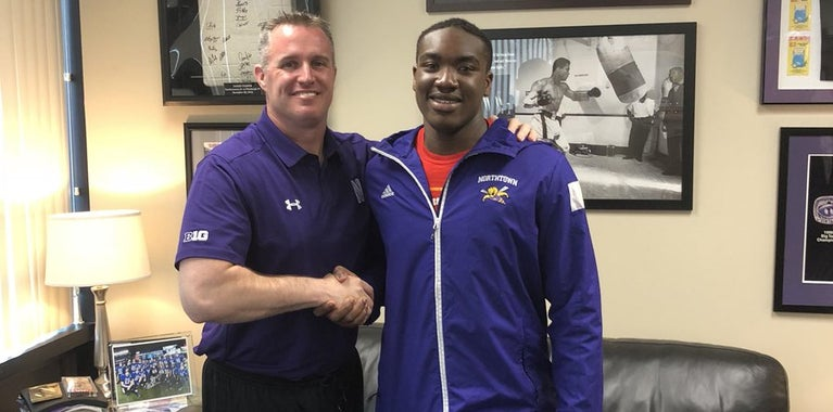 Northwestern lands quick commitment from DE Adetomiwa Adebawore