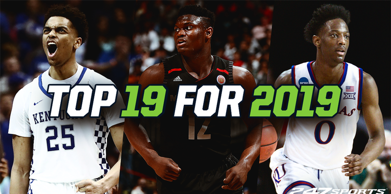 The Top 19 college basketball teams for 2019