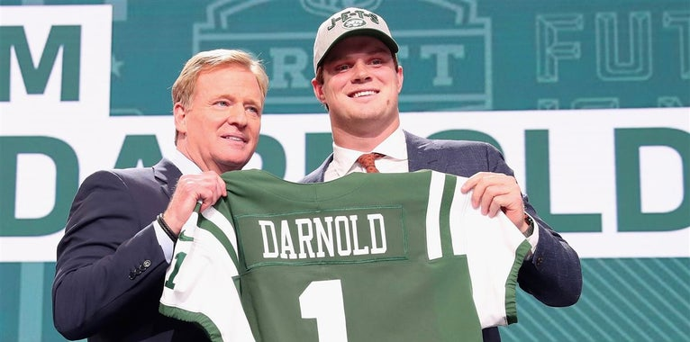 NFL.com projects rookie stats for New York's Sam Darnold