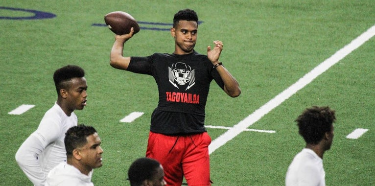 Vols offer Tagovailoa opportunity to 'write my own story'