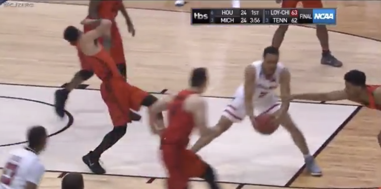 WATCH: Florida defender has Oscar-worthy flop