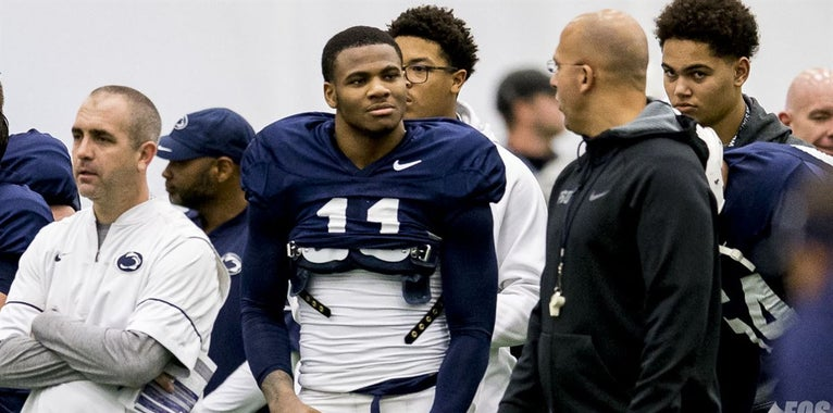Micah Parsons busted when James Franklin visits class