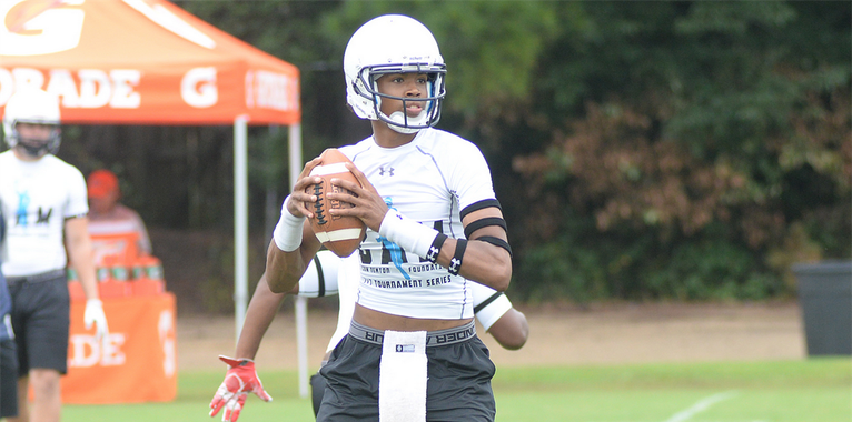 SEC leader, nearly a commitment for QB Cornelious 'Quad' Brown