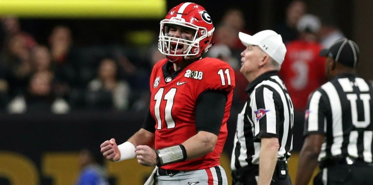 Jake Fromm not among four Athlon All-SEC quarterback selections