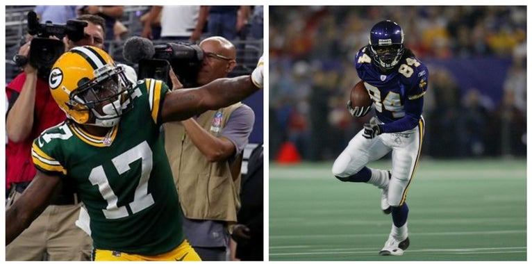 Davante Adams says Randy Moss was childhood hero