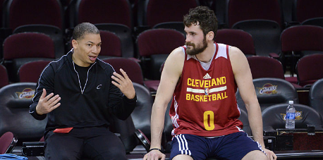 Tyronn Lue says it's up to Kevin Love if he wants to be traded