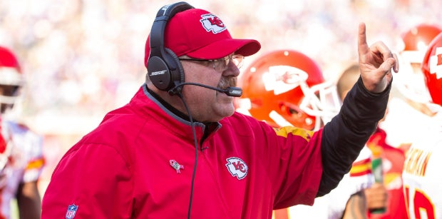 Chiefs head coach Andy Reid mum on new national anthem policy