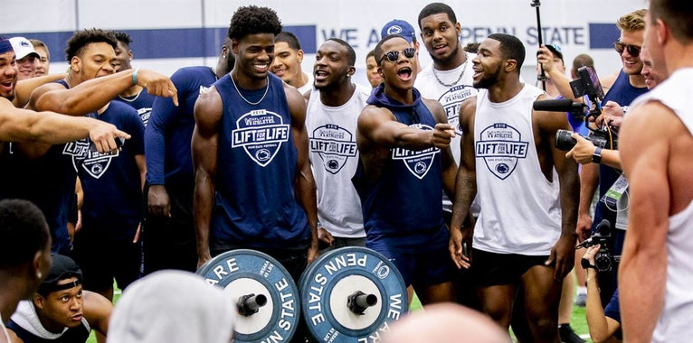 PHOTOS: Penn State's 16th annual Lift for Life charity event